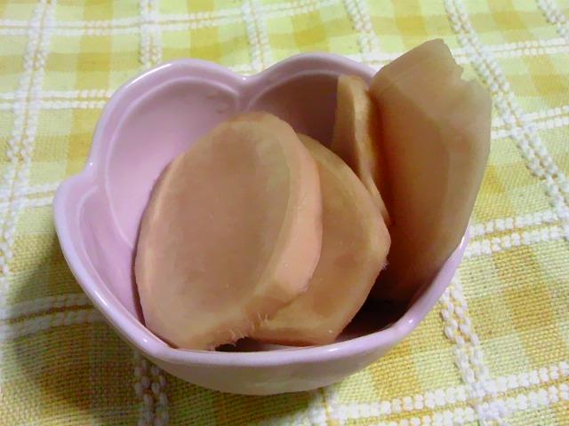 生姜の甘酢漬け・・・